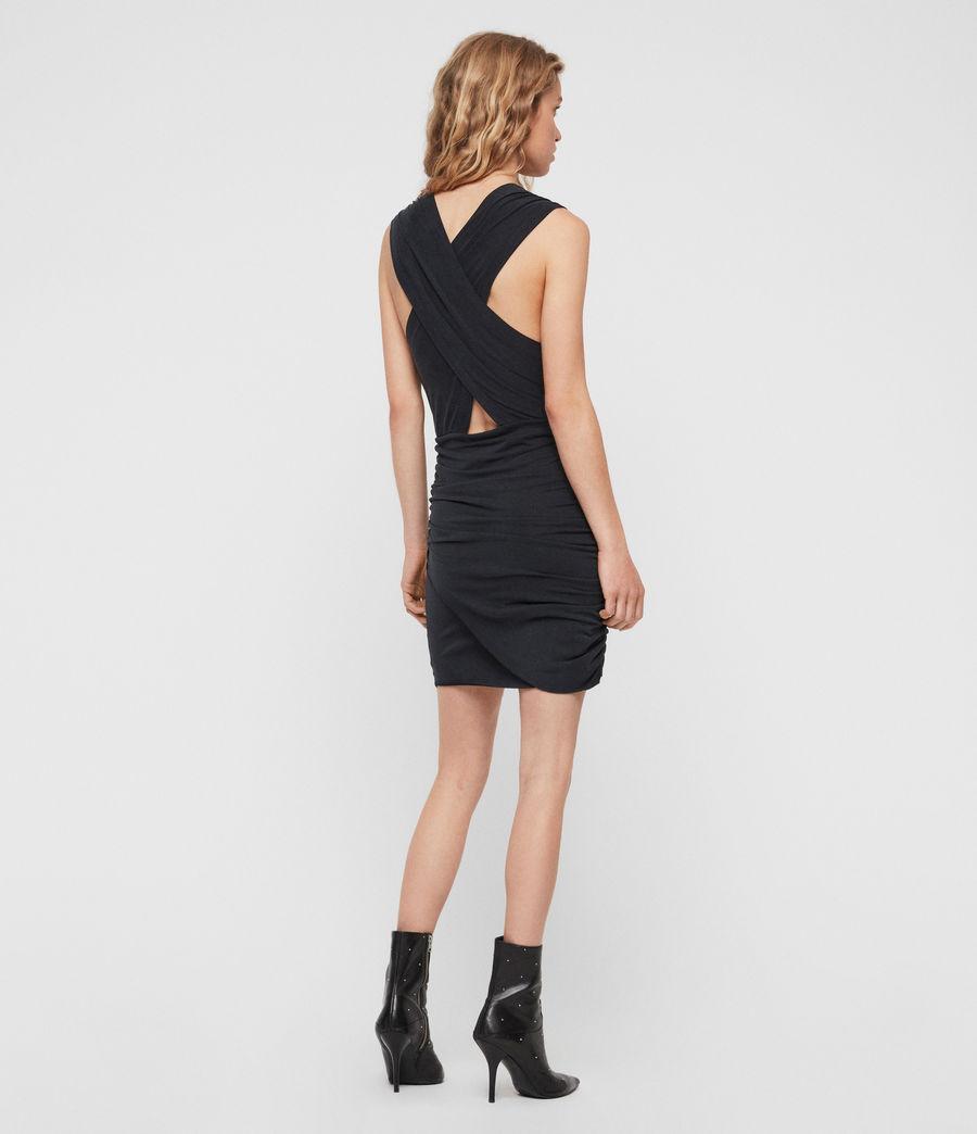 Women's Nirman Dress (black) - Image 4