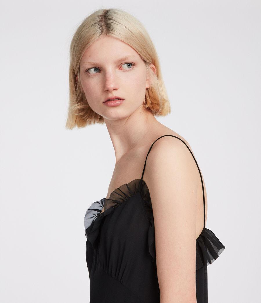 Womens Sanse Dress (black) - Image 2