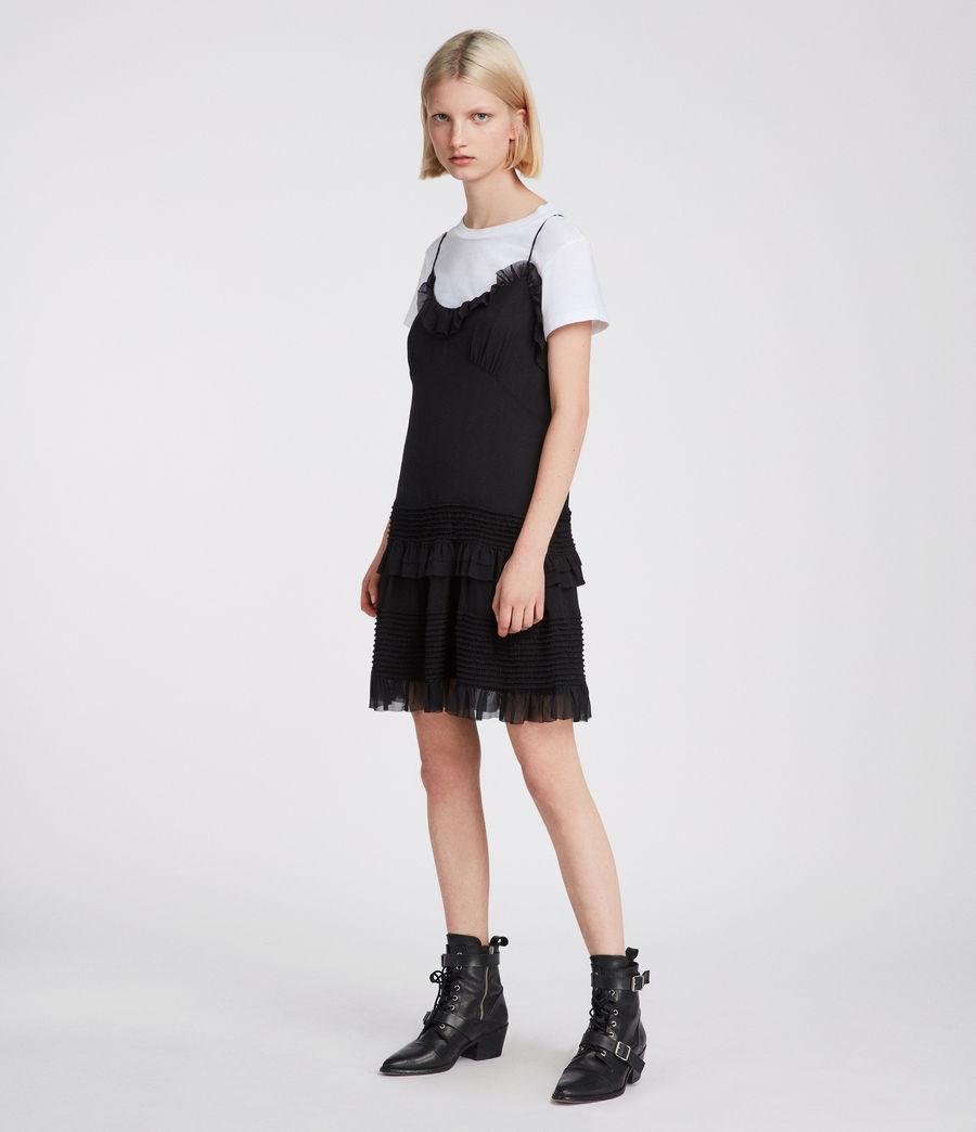 Womens Sanse Dress (black) - Image 3