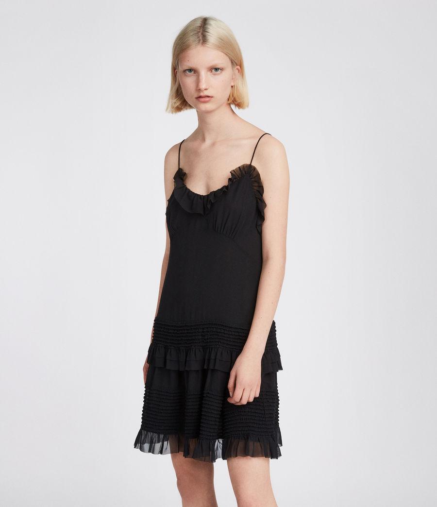 Womens Sanse Dress (black) - Image 4