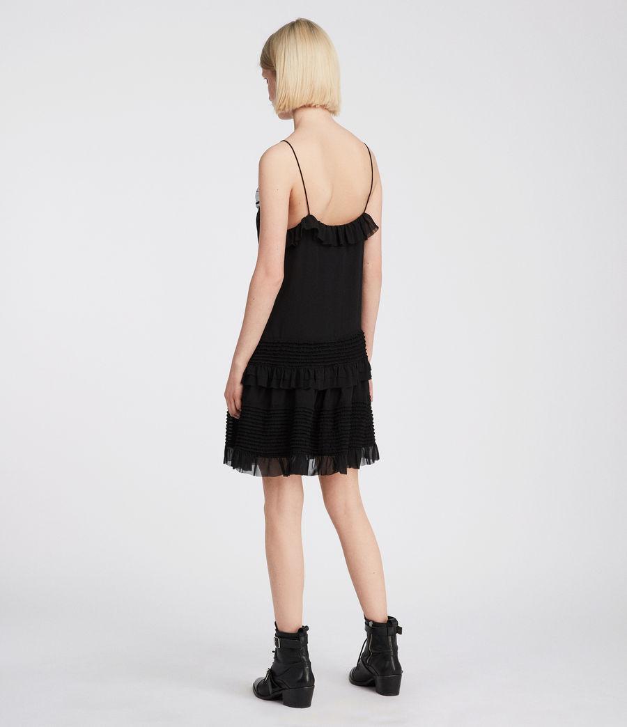 Womens Sanse Dress (black) - Image 5