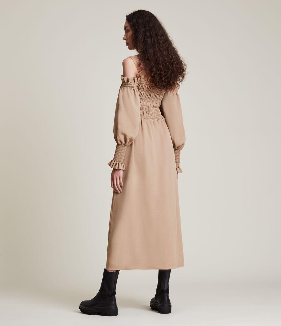 Womens Lary Dress (sand_brown) - Image 5