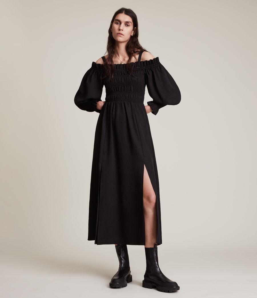 Damen Lary Kleid (sand_brown) - Image 1
