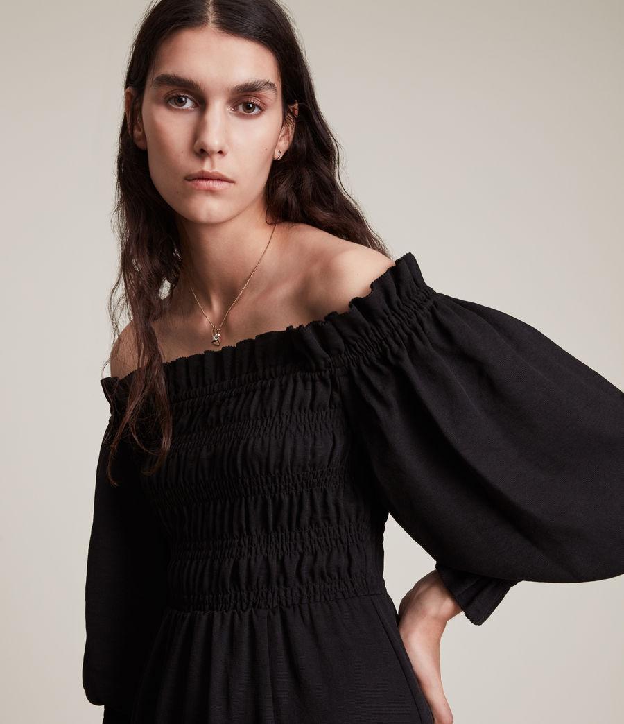 Damen Lary Kleid (sand_brown) - Image 2