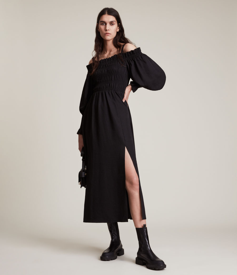 Damen Lary Kleid (sand_brown) - Image 3