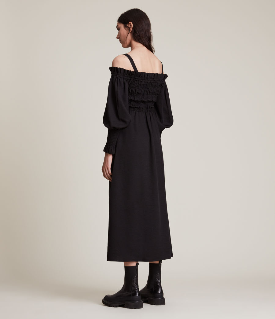 Damen Lary Kleid (sand_brown) - Image 4