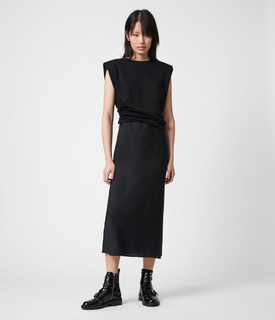 Damen Tierny 2-In-1 Coni Kleid (black) - Image 1