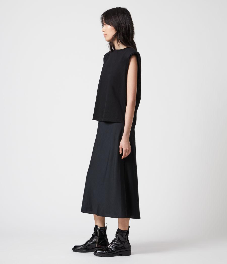 Damen Tierny 2-In-1 Coni Kleid (black) - Image 10