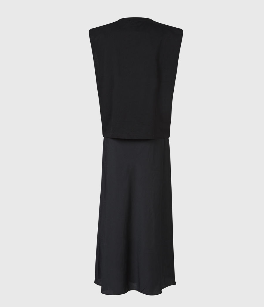 Damen Tierny 2-In-1 Coni Kleid (black) - Image 3