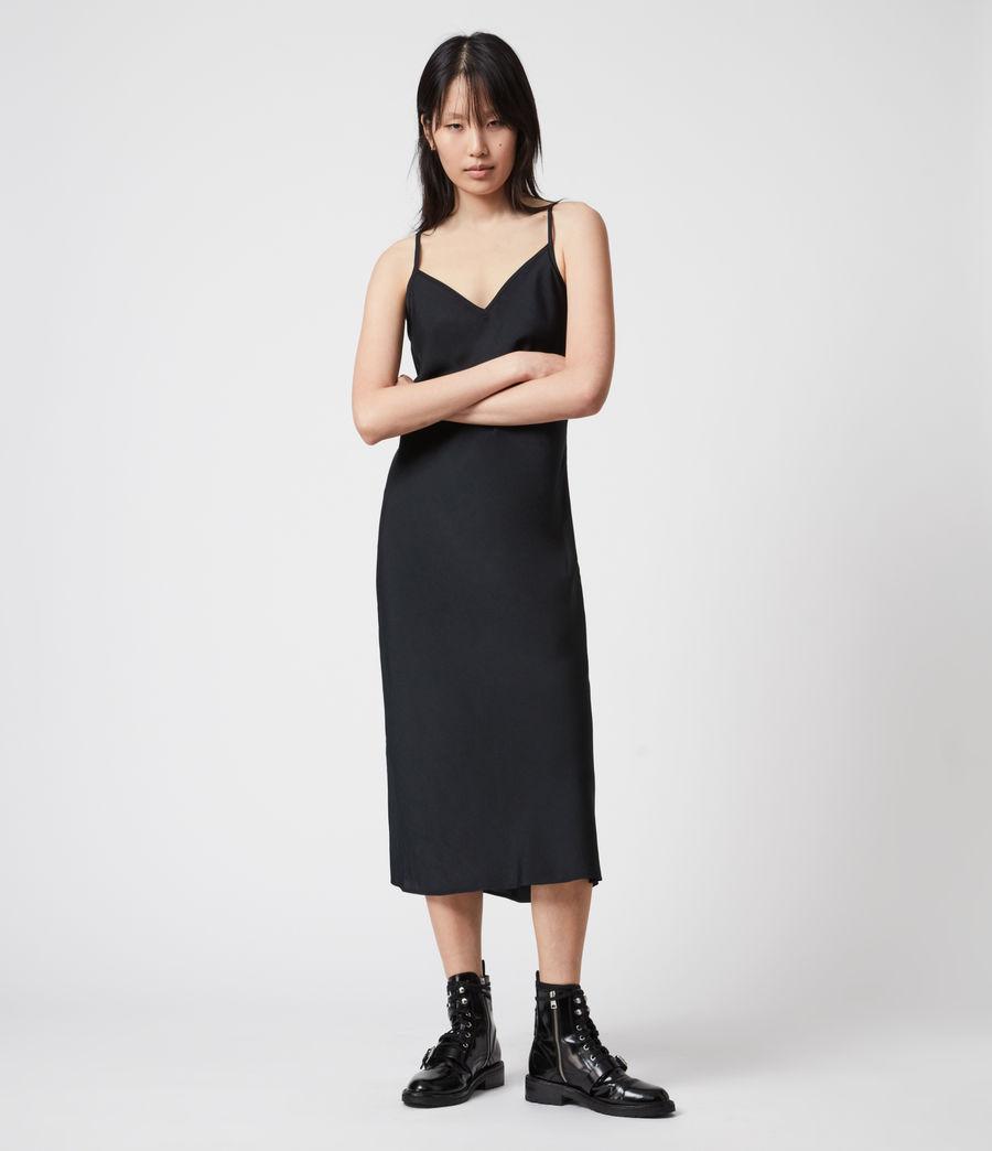 Damen Tierny 2-In-1 Coni Kleid (black) - Image 4