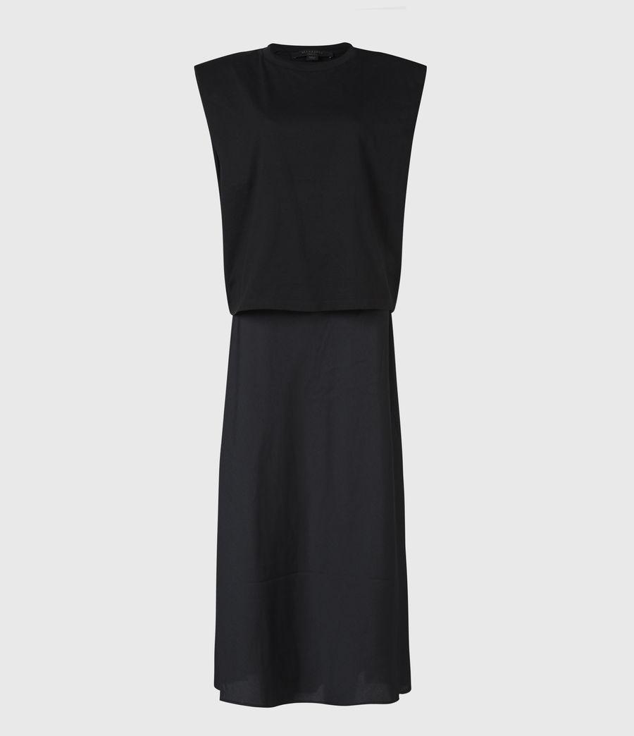 Damen Tierny 2-In-1 Coni Kleid (black) - Image 5