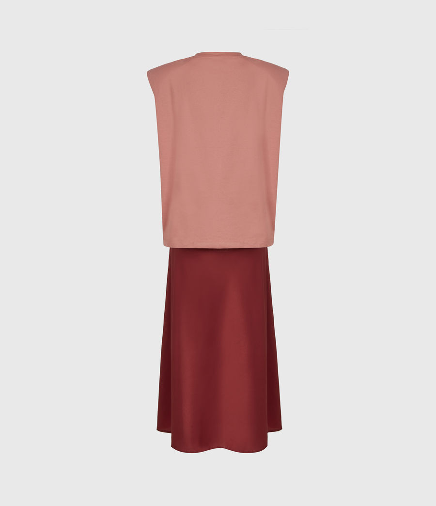 Womens Tierny 2-In-1 Coni Dress (rosewood_pink) - Image 3