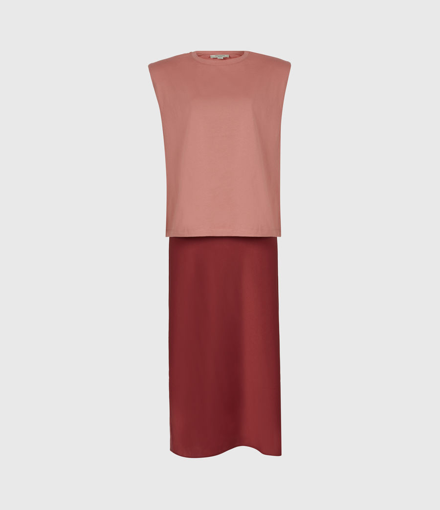 Womens Tierny 2-In-1 Coni Dress (rosewood_pink) - Image 6