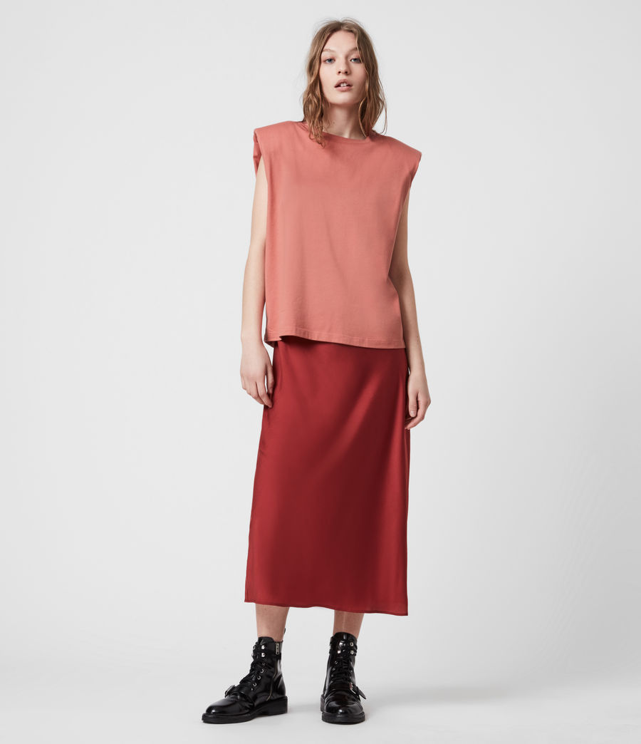 Womens Tierny 2-In-1 Coni Dress (rosewood_pink) - Image 8