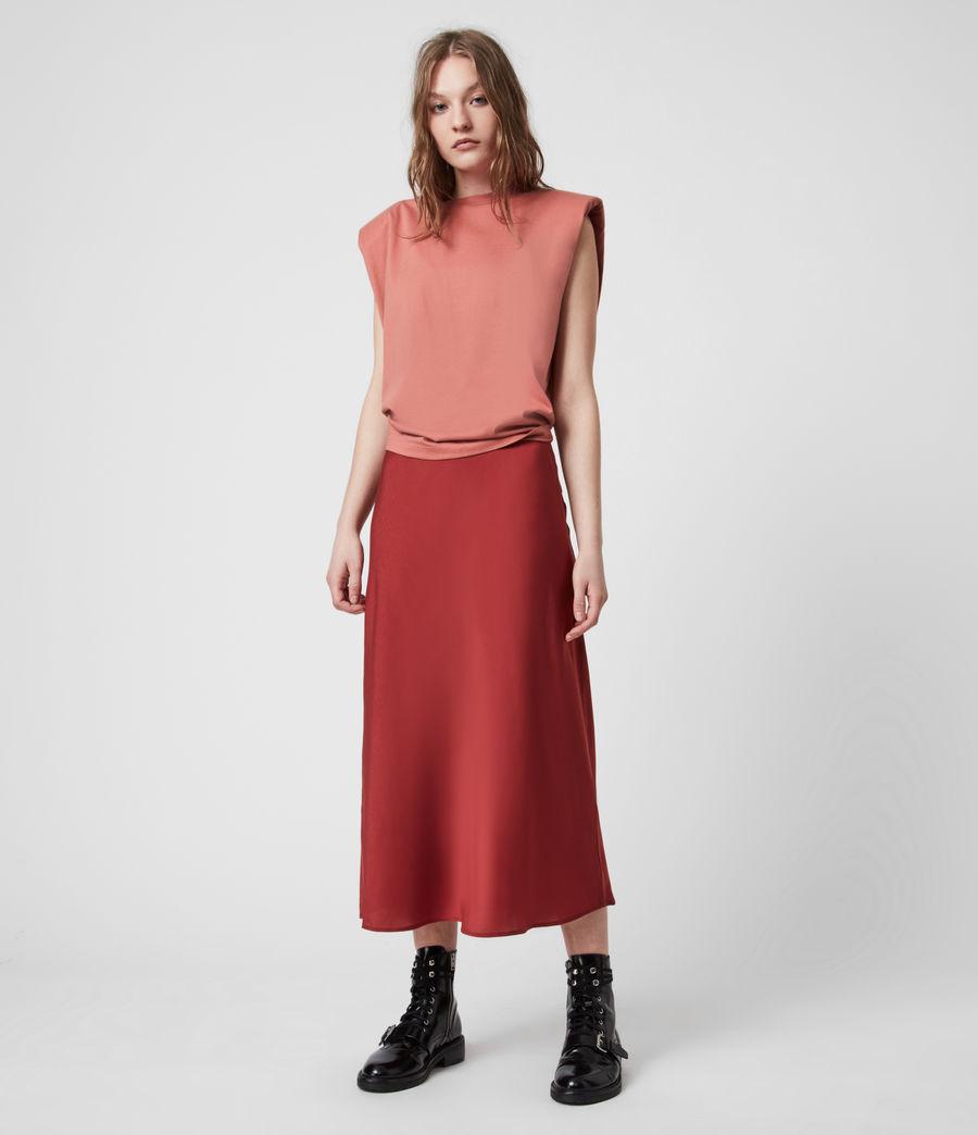 Womens Tierny 2-In-1 Coni Dress (rosewood_pink) - Image 9