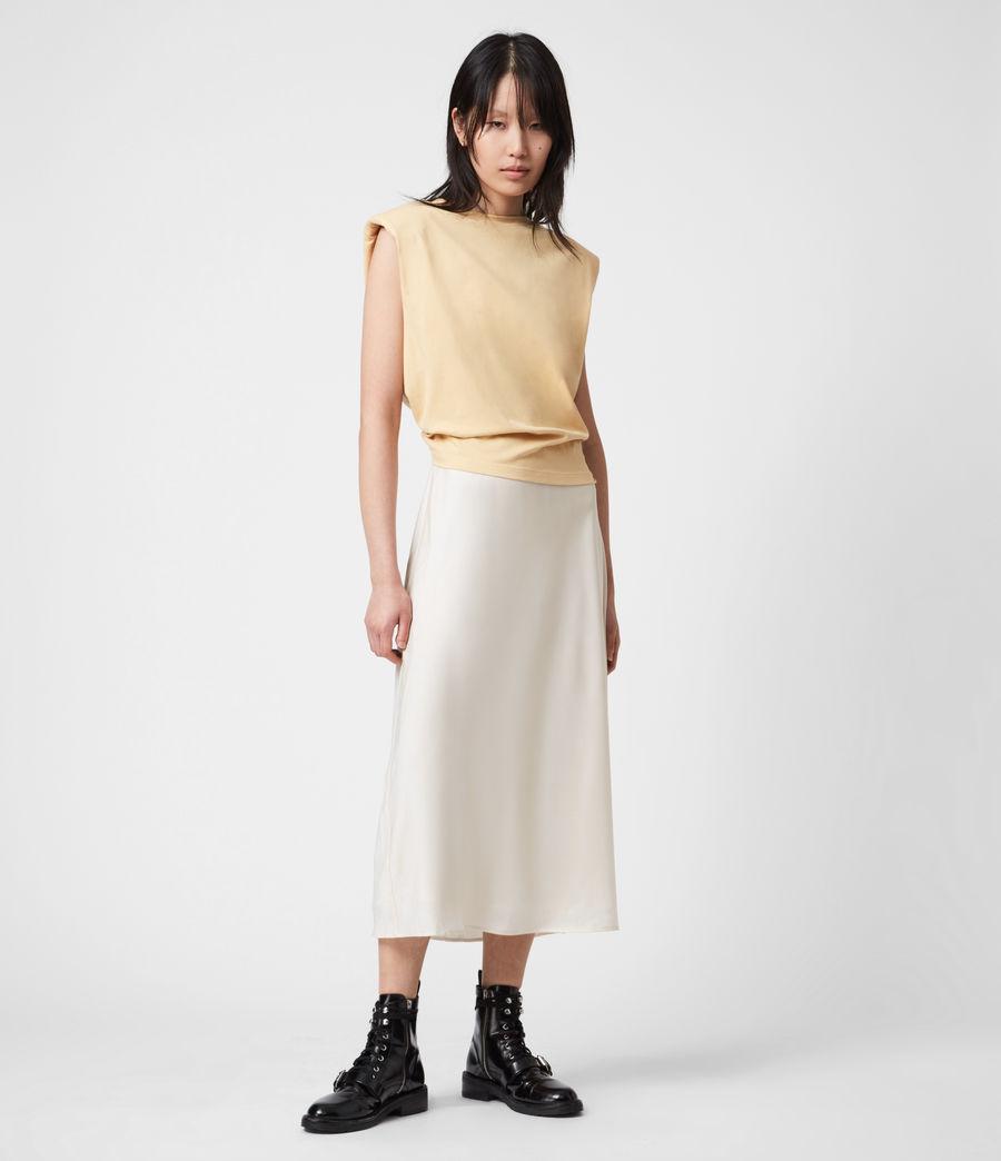 Womens Tierny 2-In-1 Coni Dress (sunstone_yellow) - Image 1
