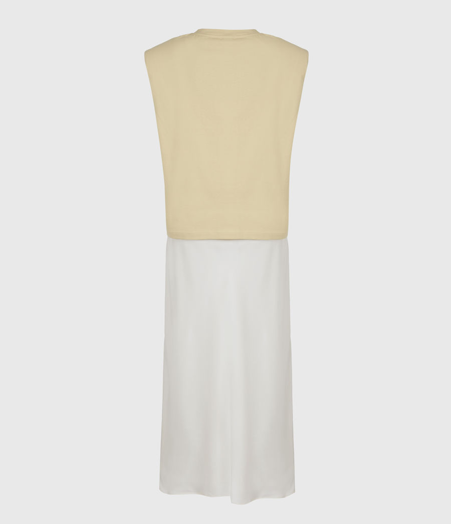 Womens Tierny 2-In-1 Coni Dress (sunstone_yellow) - Image 3