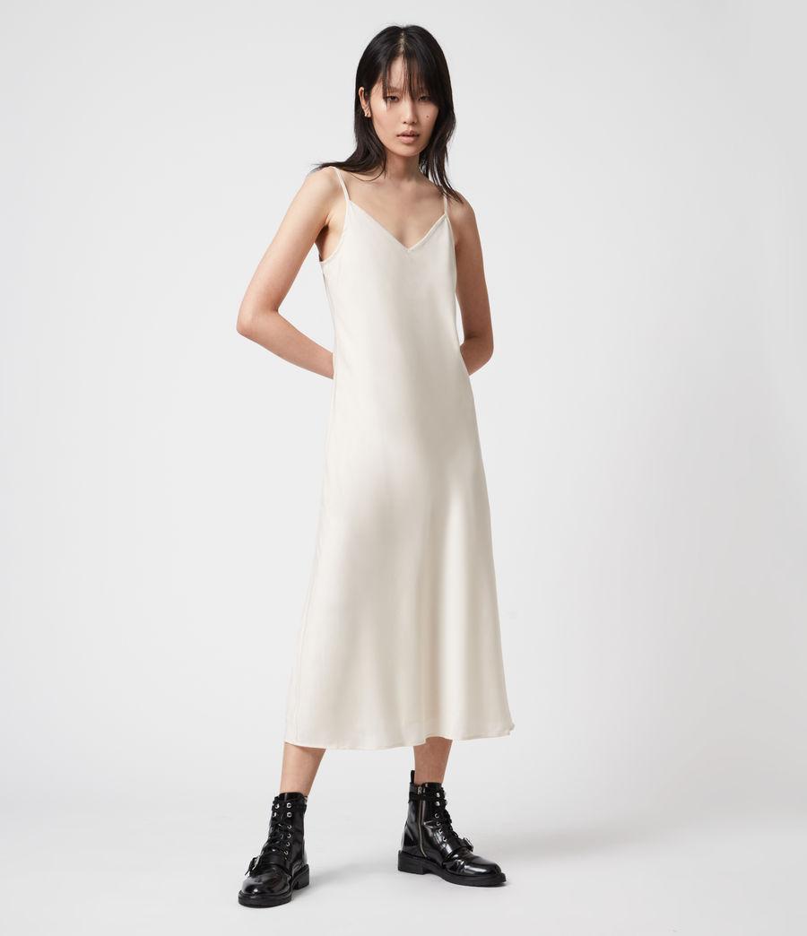 Womens Tierny 2-In-1 Coni Dress (sunstone_yellow) - Image 4