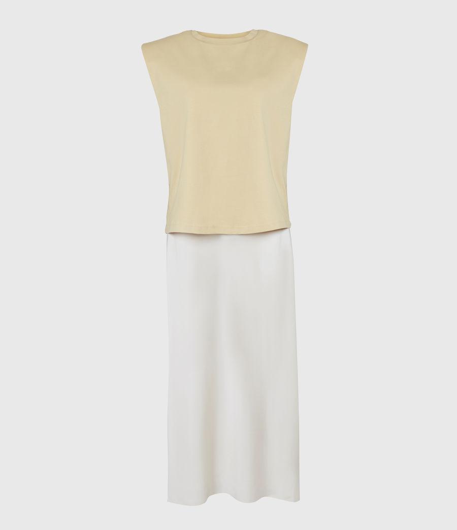 Womens Tierny 2-In-1 Coni Dress (sunstone_yellow) - Image 5