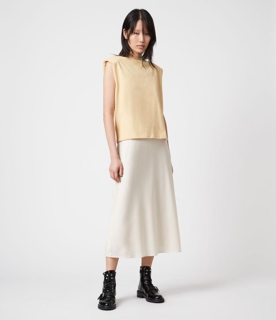 Womens Tierny 2-In-1 Coni Dress (sunstone_yellow) - Image 8