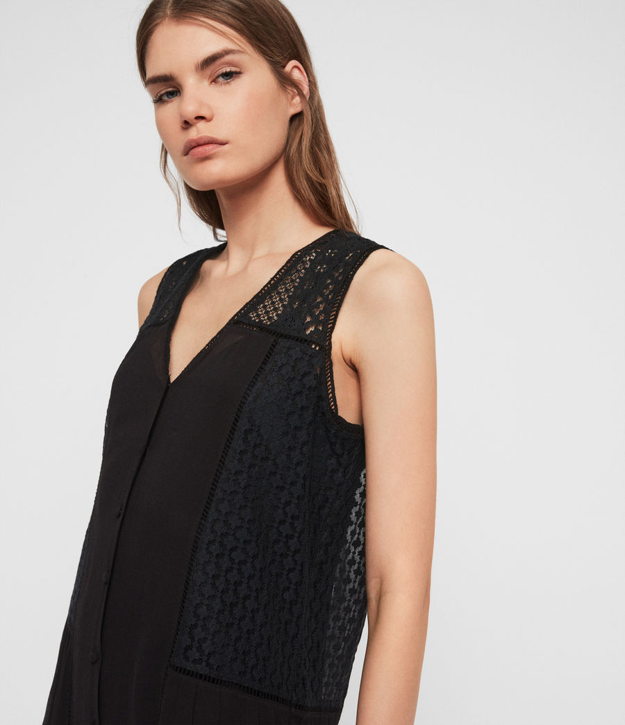 Women's Manie Lace Dress (black) - Image 3