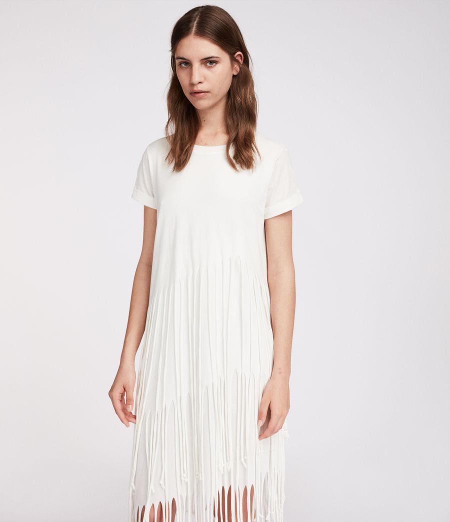 Mujer Vestido Tami Layer (chalk_white) - Image 2