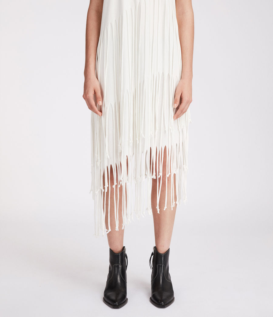 Mujer Vestido Tami Layer (chalk_white) - Image 3
