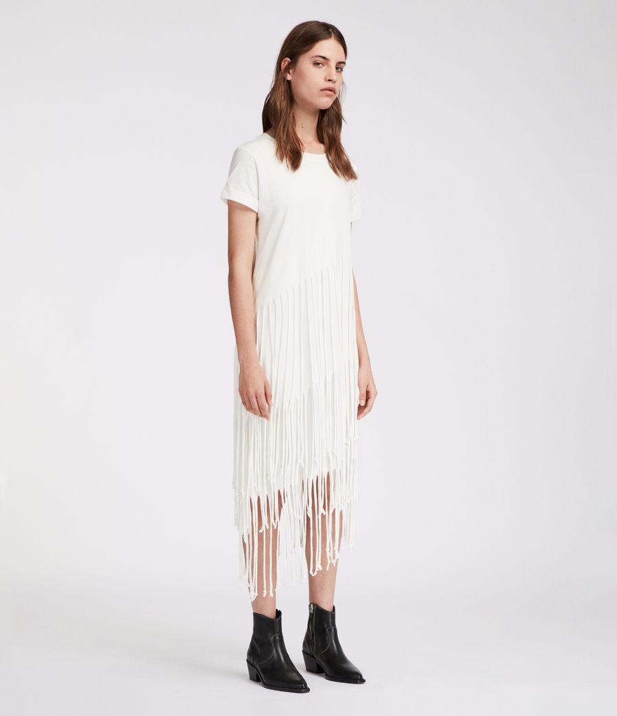 Mujer Vestido Tami Layer (chalk_white) - Image 4