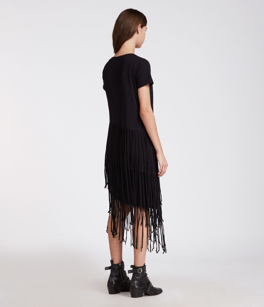 Mujer Vestido Tami Layer (black) - Image 4
