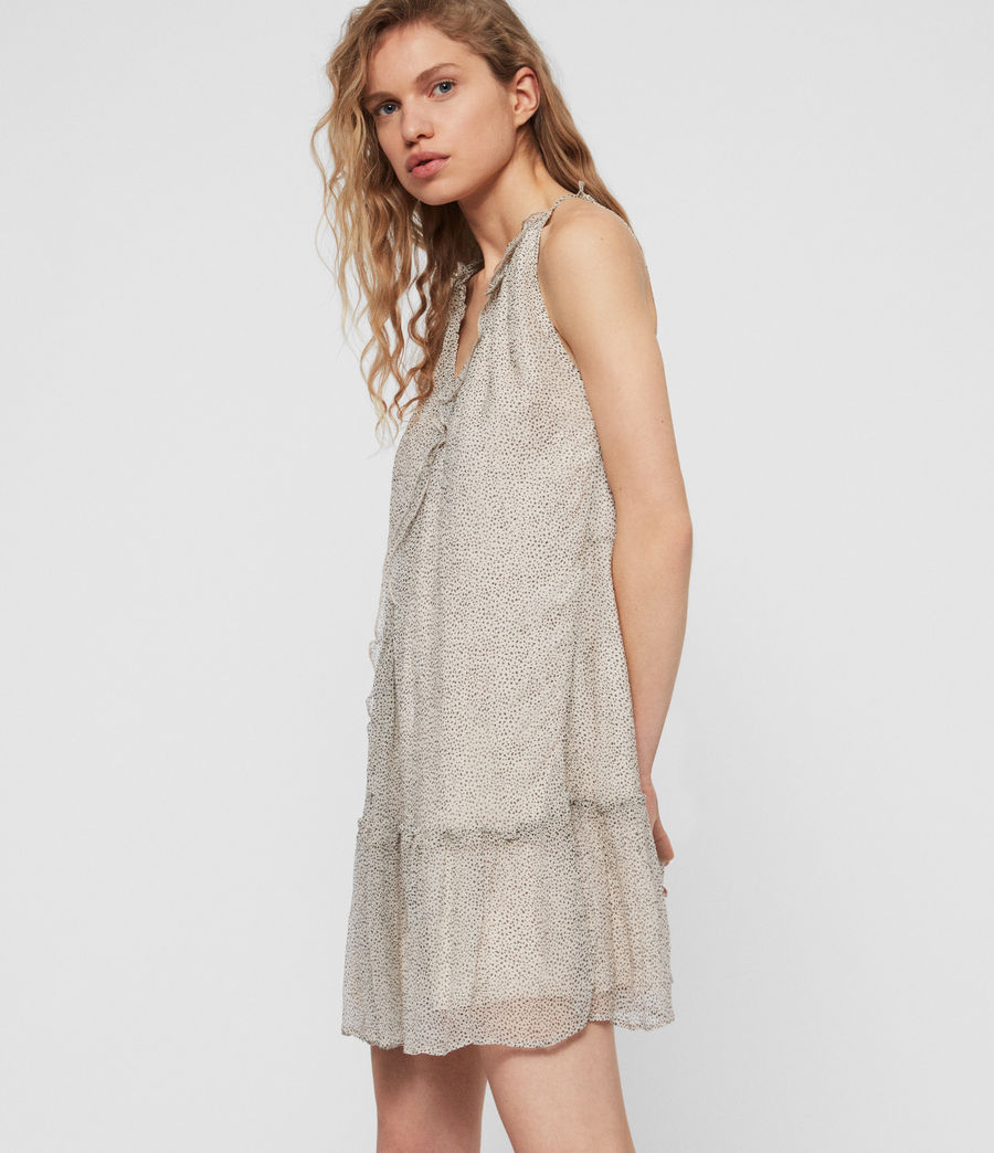 Women's Maisie Speckle Dress (oyster_white) - Image 2