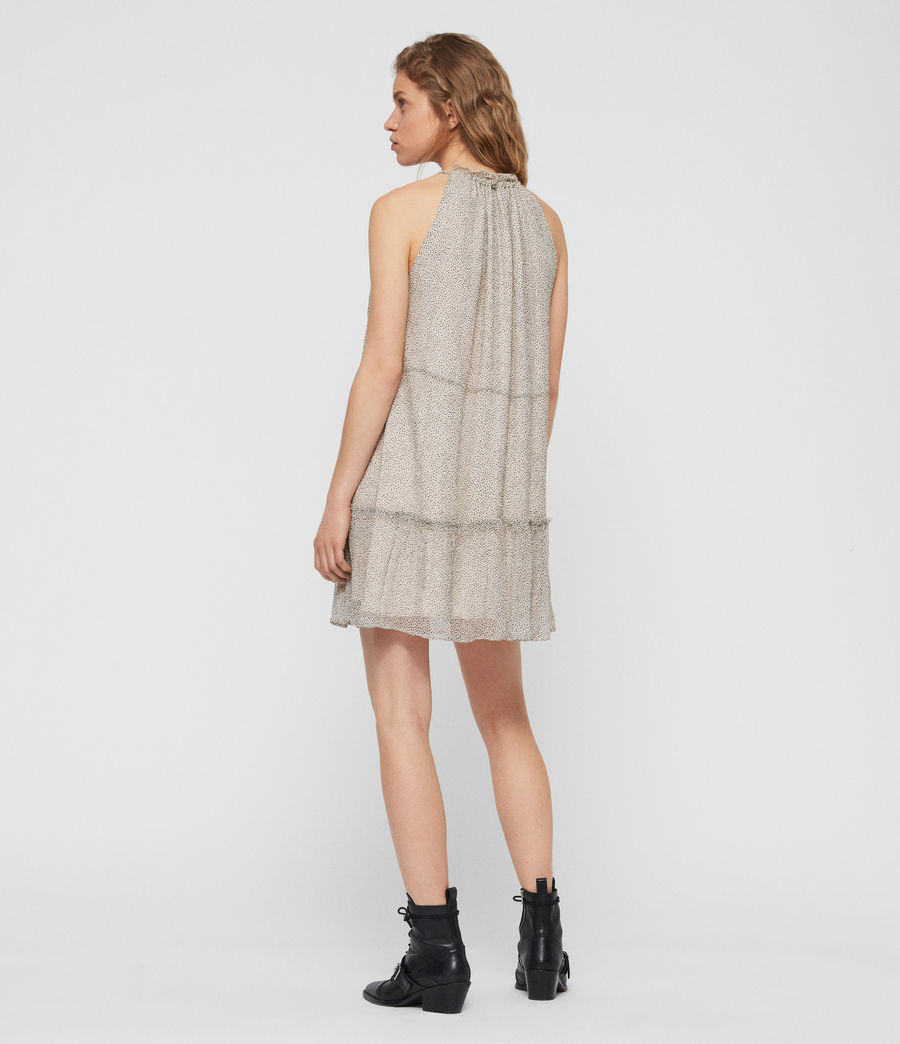 Women's Maisie Speckle Dress (oyster_white) - Image 4