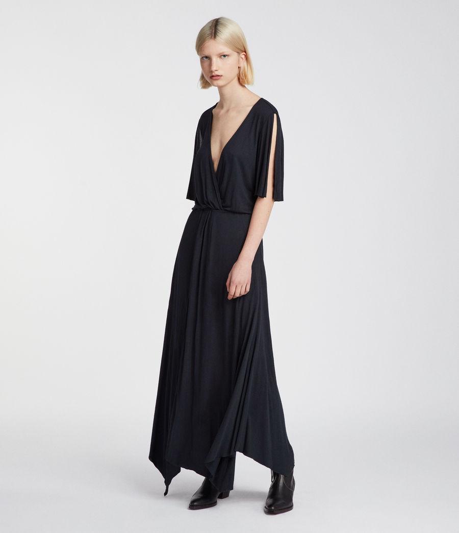 Womens Amira Dress (anthracite_grey) - Image 1