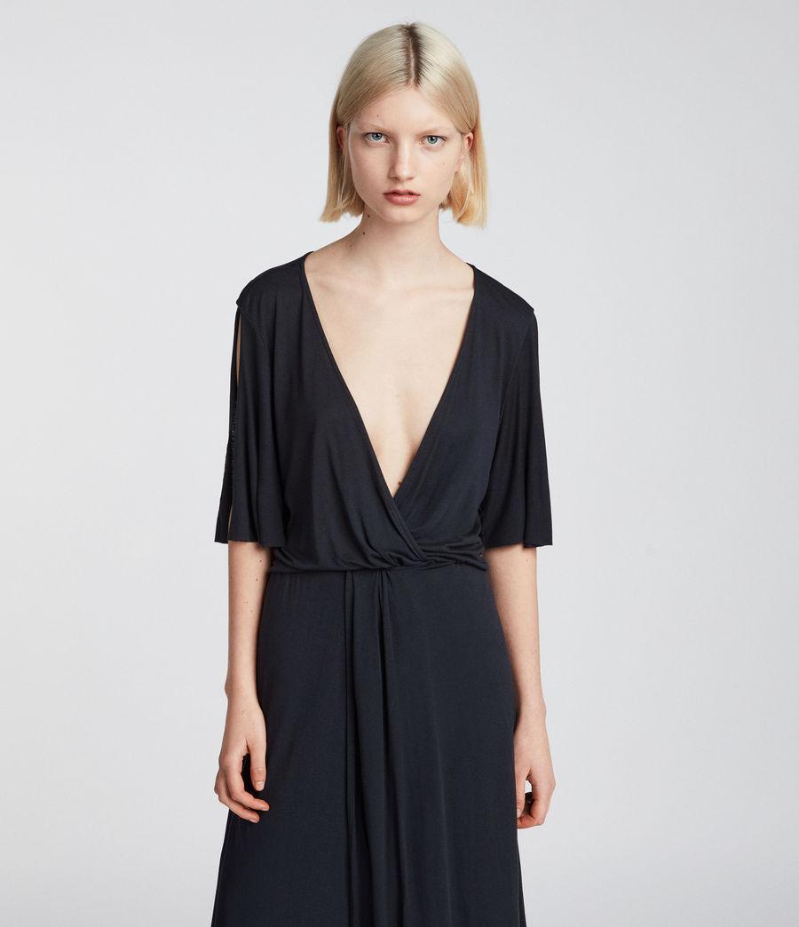 Womens Amira Dress (anthracite_grey) - Image 4