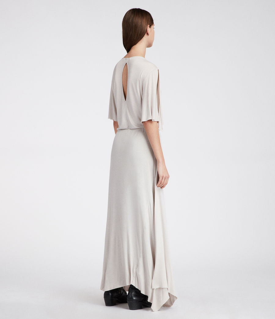 Womens Amira Dress (stone_white) - Image 5