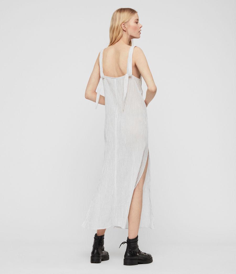 Womens Dalea Stripe Dress (chalk_white_blue) - Image 7