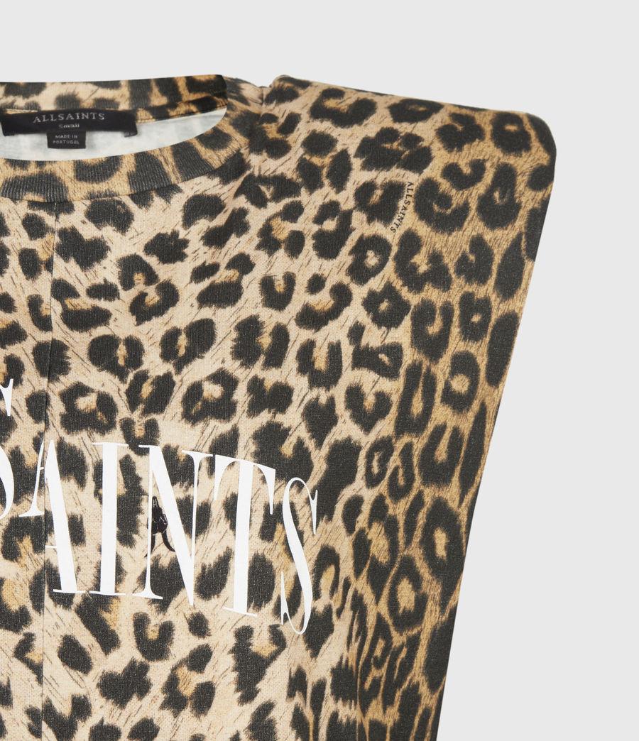 Women's Coni Dropout Dress (leopard_yellow) - Image 5
