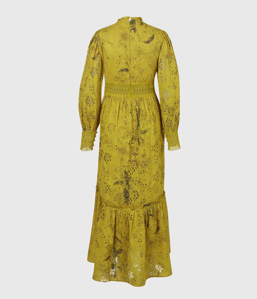 Women's Sia Demoir Broderie Dress (garden_olive) - Image 3