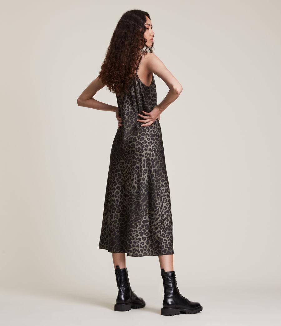 Women's Tierny Leppo Slip Dress (khaki_green) - Image 6