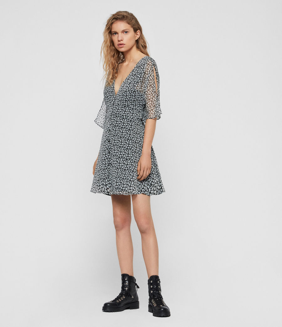 Womens Ivey Scatter Dress (grey) - Image 2