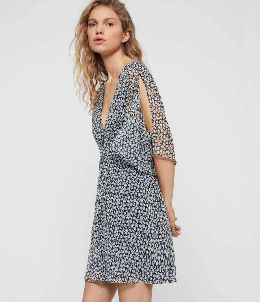 Womens Ivey Scatter Dress (grey) - Image 3