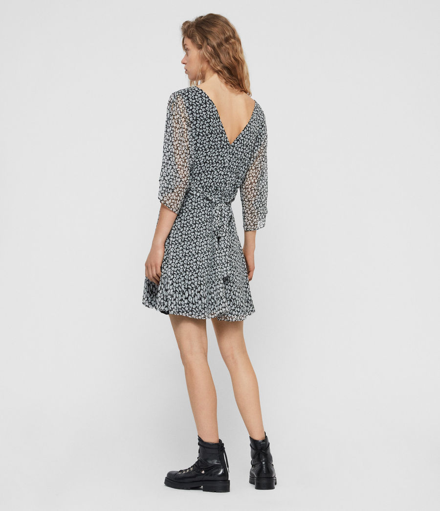 Womens Ivey Scatter Dress (grey) - Image 6
