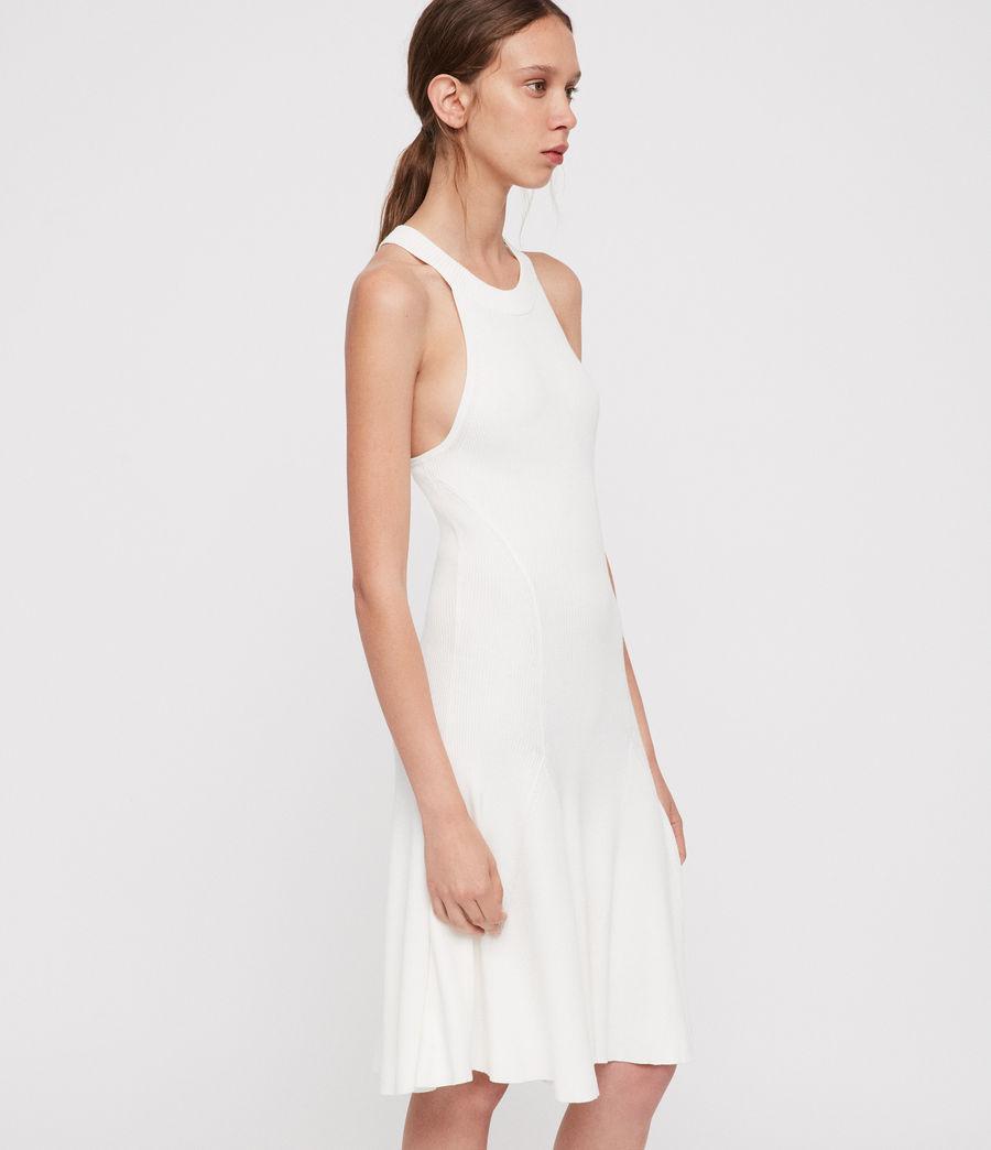 Mujer Vestido Elsa (ecru_white) - Image 2