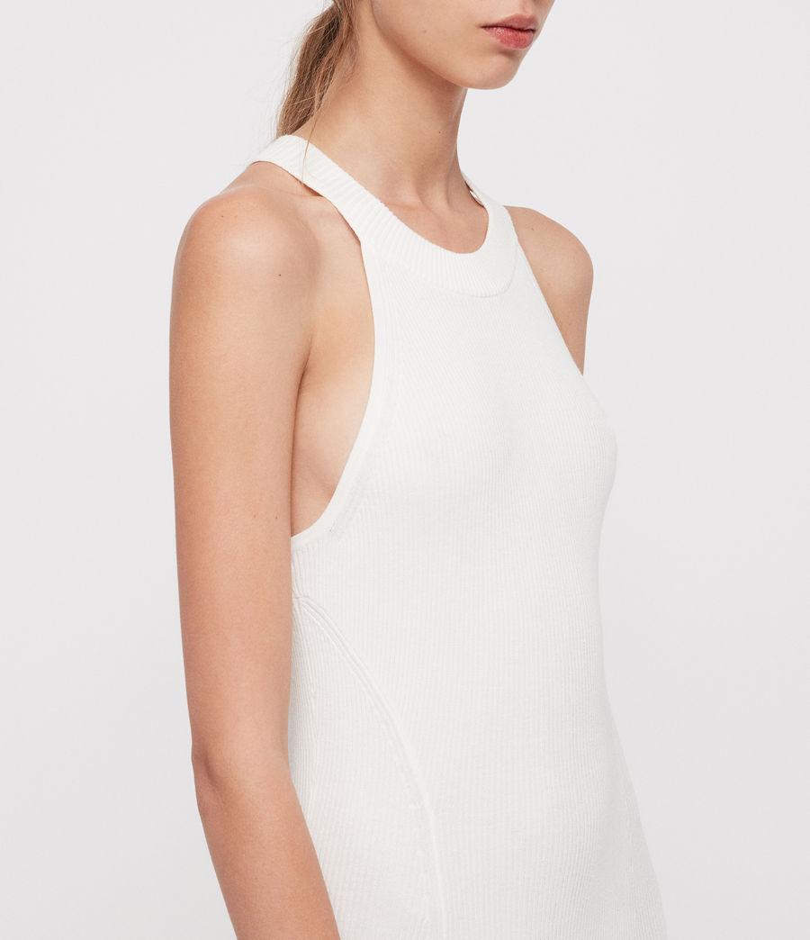 Mujer Vestido Elsa (ecru_white) - Image 3