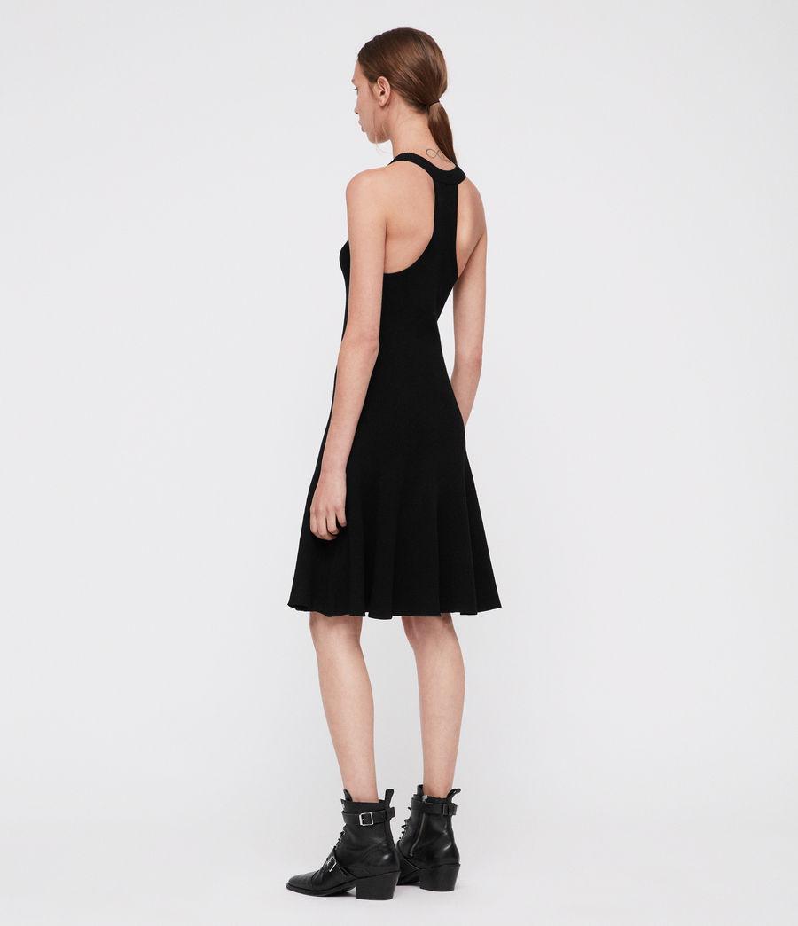Mujer Vestido Elsa (black) - Image 2