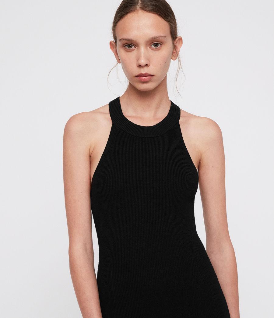 Womens Elsa Dress (black) - Image 3