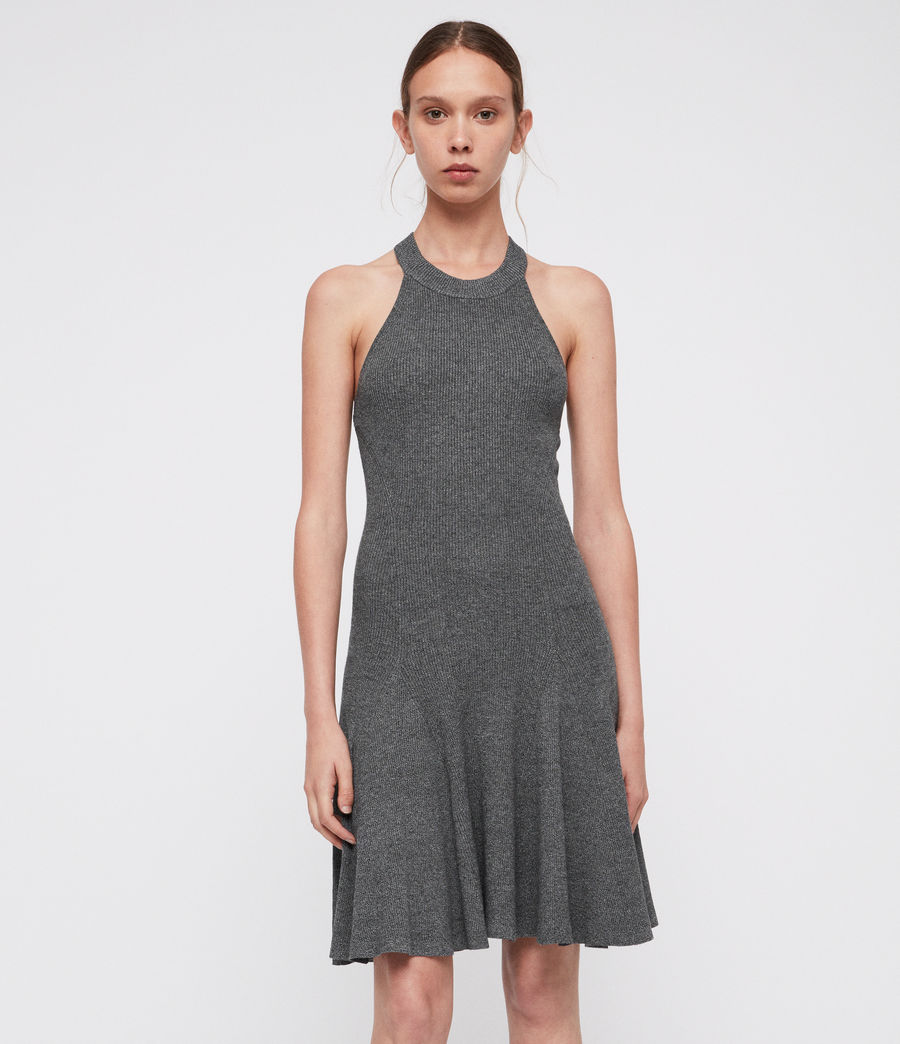 Damen Elsa Kleid (grey_twist) - Image 4