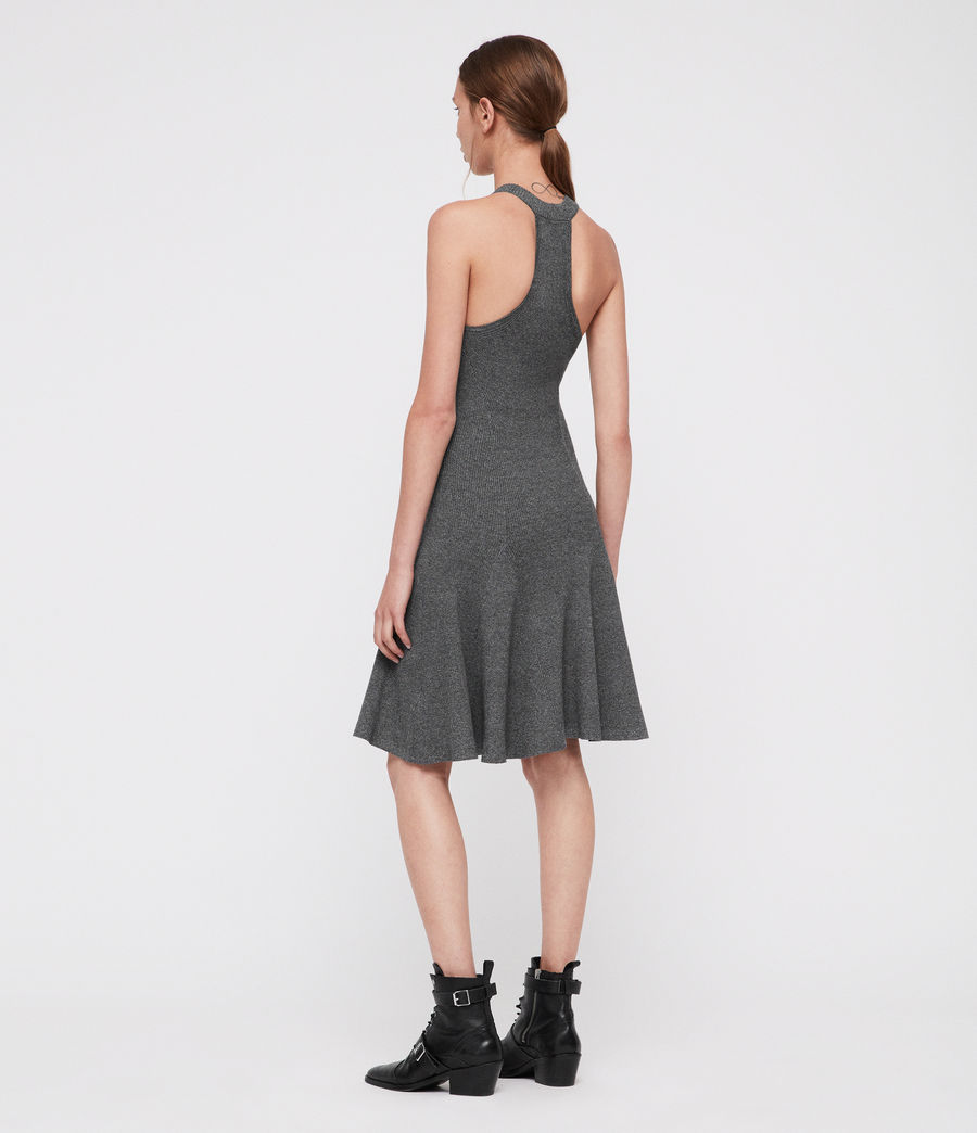Femmes Robe Elsa (grey_twist) - Image 5