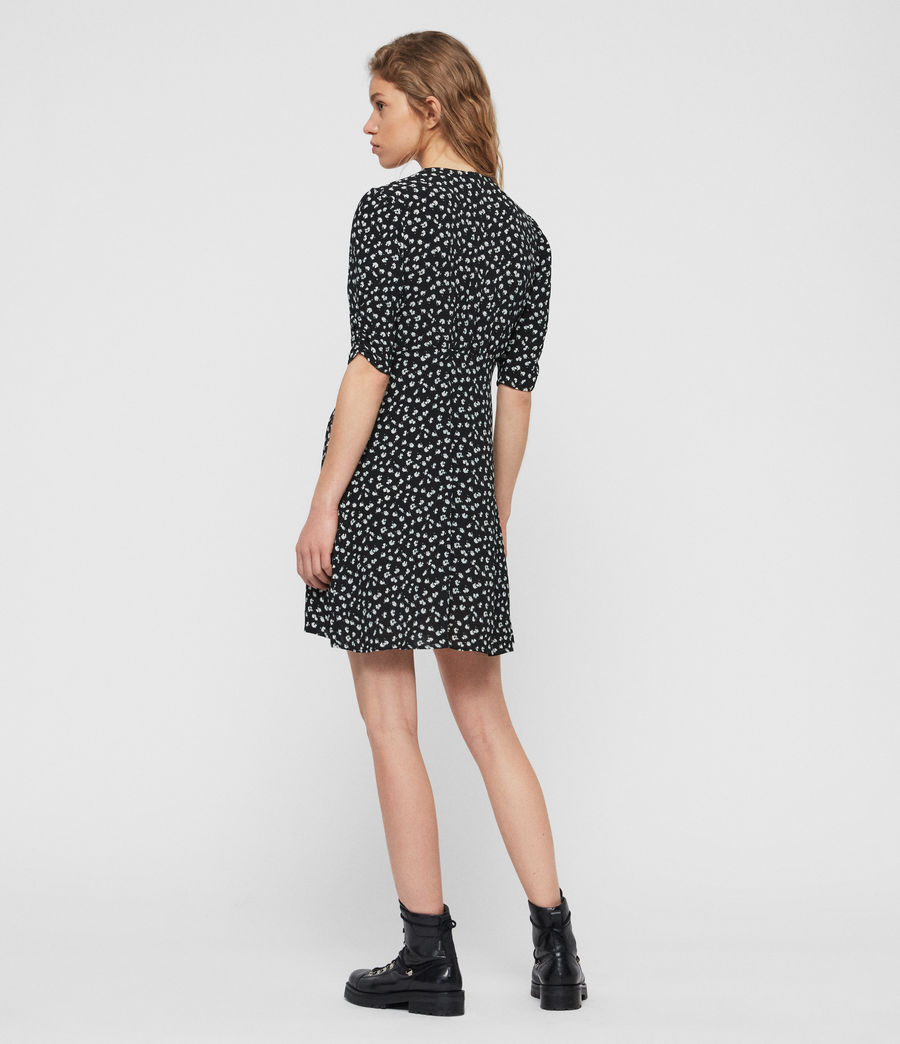 Women's Kota Scatter Dress (black) - Image 5