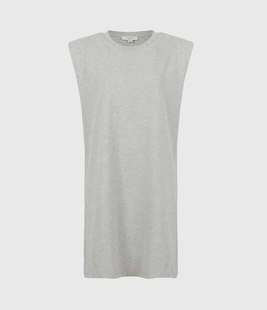 Women's Coni Organic Cotton Tank Dress (grey_marl) - Image 2