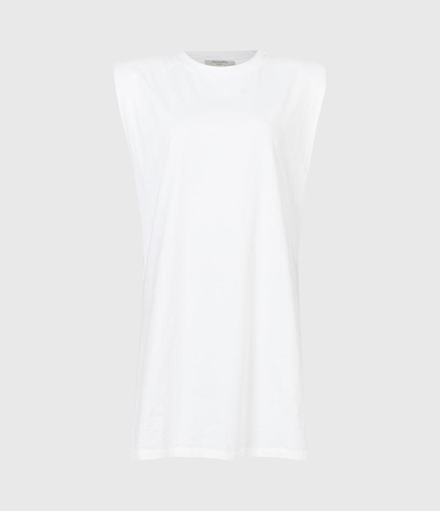 Femmes Robe en Coton Bio Coni (optic_white) - Image 2